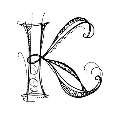 Letter K Drawing by Letter K Drawing At Getdrawings Free For Personal