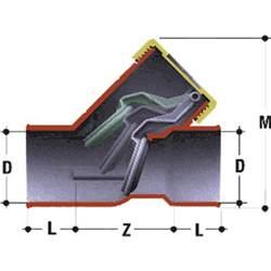 clapet anti retour pvc diam 232 tre 50 mm nicoll bricozor