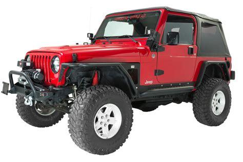 jeep tj 97 fishbone offroad fb23027 rock sliders for 97 06 jeep