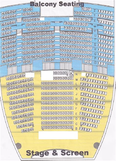 morrison center seating chart specs the theatre