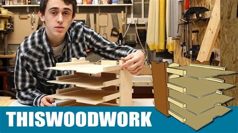 woodworking projects homemade paper tray youtube