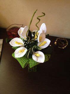 bouquet di fiori all uncinetto composizione di fiori all uncinetto www nonsolofiori