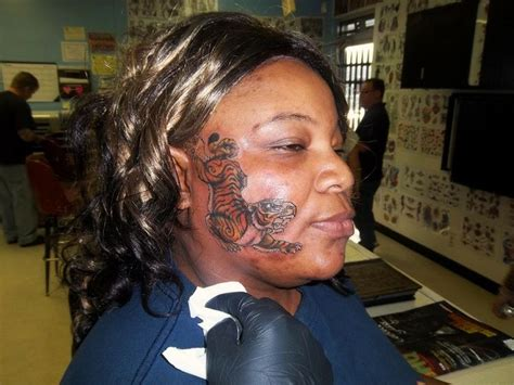tattoo fail one piece face tattoo gone wrong quite original and creative this