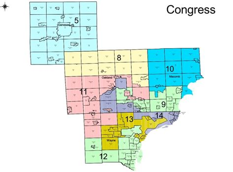 congressional districts map the politics of michigan s redistricting plan michigan radio