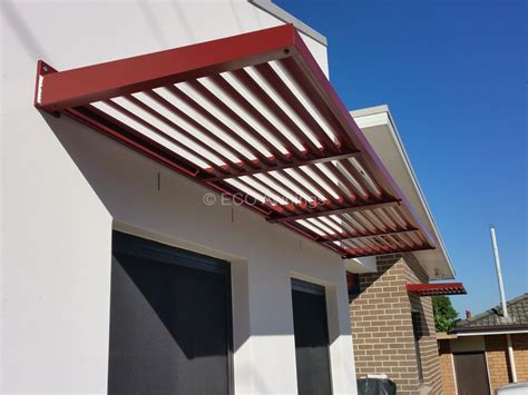 Louvered Awnings For Home by Cantilever Louvres Eco Awnings Sydney