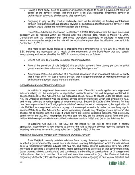 investment advisers act section 206 alert sec proposes rules under the investment advisers