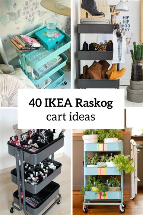 Raskog Cart Ideas | 60 smart ways to use ikea raskog cart for home storage digsdigs