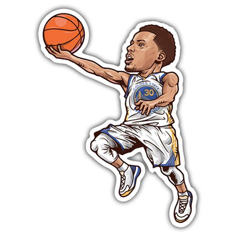 Stephen Curry Stickers