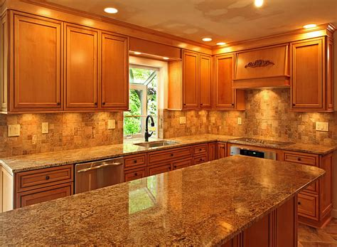 Kitchen Cabinet Countertop Ideas Kitchen Counters And Backsplash Ideas