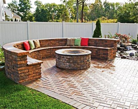 Patio With Firepit Best Outdoor Pit Ideas To The Ultimate Backyard Getaway