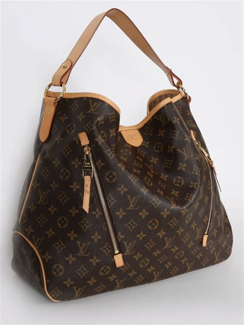 louis vuitton delightful gm monogram canvas luxury bags