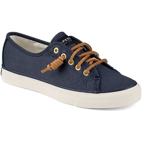 Sperry Top Sider Canvas sperry s seacoast canvas sneakers