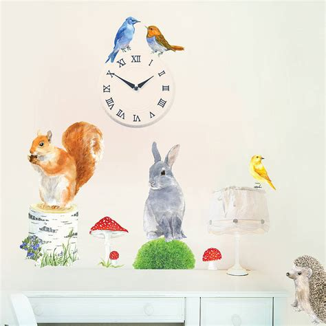 animal wall stickers garden animals wall sticker by chocovenyl