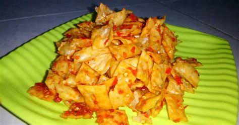 resep keripik pangsit bawang enak  sederhana cookpad