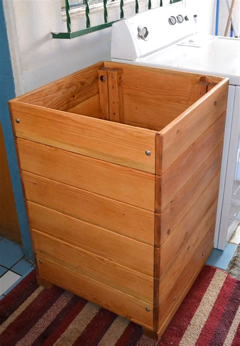 rustic wood laundry basket her for wooden laundry