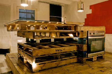 12 cozinhas de paletes