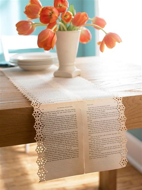 craft paper table runner paper table runner wedding