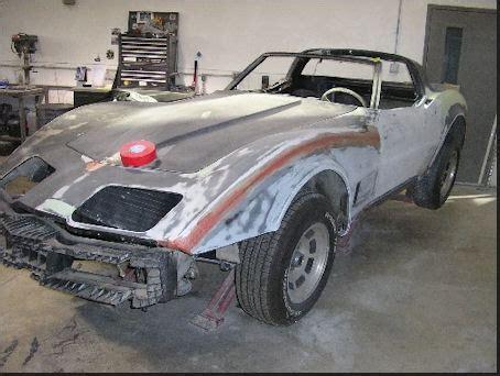 1971 corvette restoration blue sky classic car restoration the only place for that