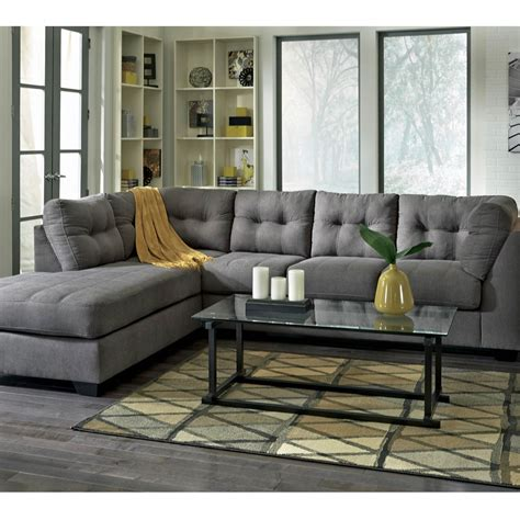 ashley furniture sofa with chaise ashley maier 2 pc sectional sofa with left corner chaise