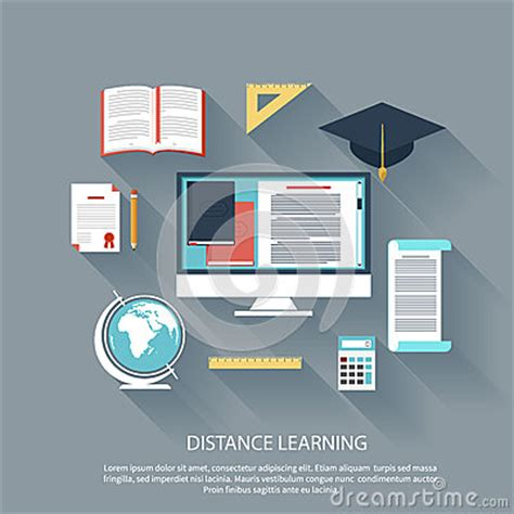 Distance Mba by Distance Learning With Services Concept