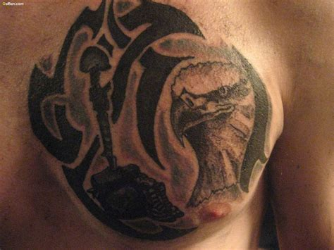 chest tattoo military 65 great army tattoo designs ever rare army fight