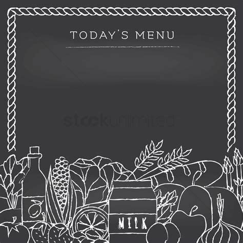 today s today s menu vector image 1620875 stockunlimited