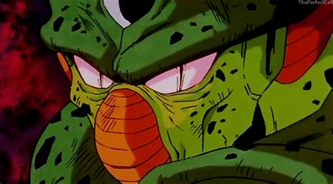 dbz cell imperfect more dbz pics http www ssj goku pre rosat vs initial imperfect cell battles