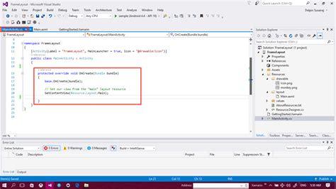 frame layout in xamarin delpin xamarin blog create an frame layout in xamarin andorid