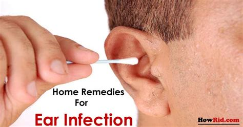 home remedies for ear infection treatment naturally