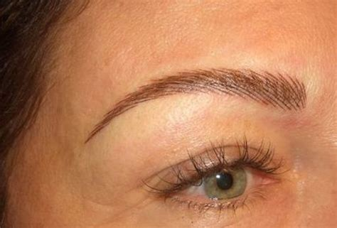 tattoo eyebrows that look like hair permanent eyebrow tattooing for redheads would you do it