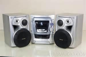 panasonic sa ak500 stereo compact shelf system cd player