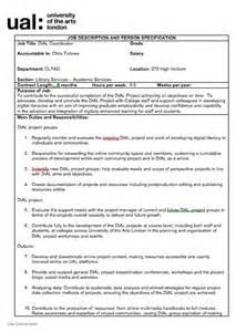 It Coordinator Description by Coordinator Description Process Arts