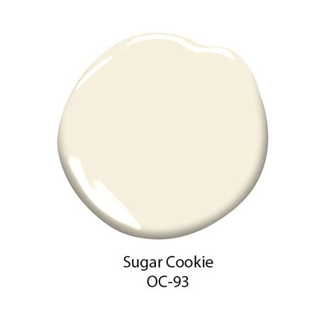 soft white color benjamin s sugar cookie oc 93 paint color is a
