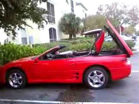 mitsubishi 3000gt spyder vr 4 convertible! youtube