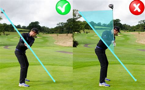 how to swing through the golf ball are you over the top in your golf swing