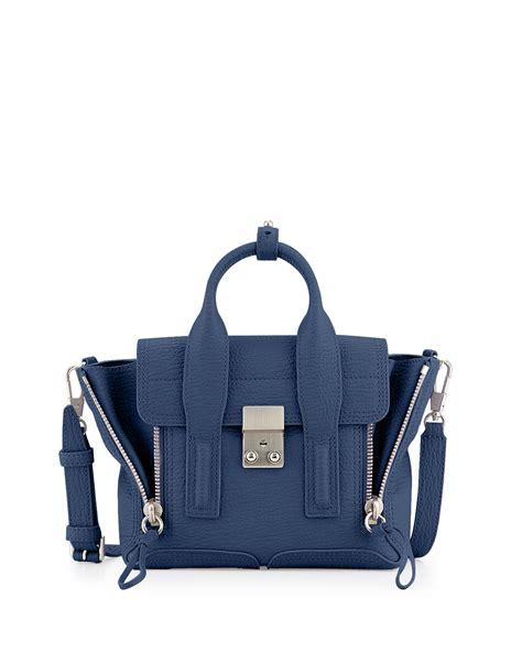 Tas Pouch Mini Skirt Blue Inside lyst 3 1 phillip lim pashli mini satchel bag in