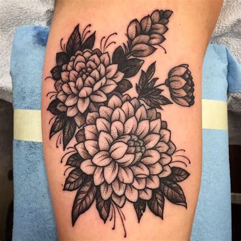 black and grey violet tattoo 17 best ideas about dahlia tattoo on pinterest dahlia