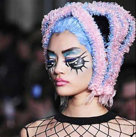12 most extreme fashion makeup ideas (makeup ideas) oddee