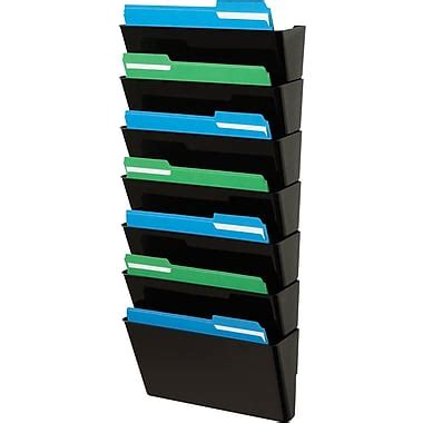 staples® stackable docupocket® wall files, 7 pockets