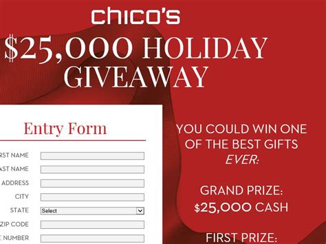 Black Friday Sweepstakes - chico s boutique black friday sweepstakes