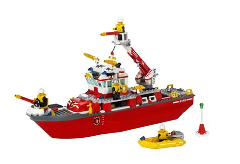 lego boat directions lego city fire ship 7207
