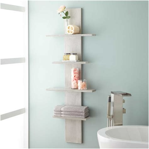 Shelf Ideas For Bathroom various bathroom wall shelf for modern bathroom ideas