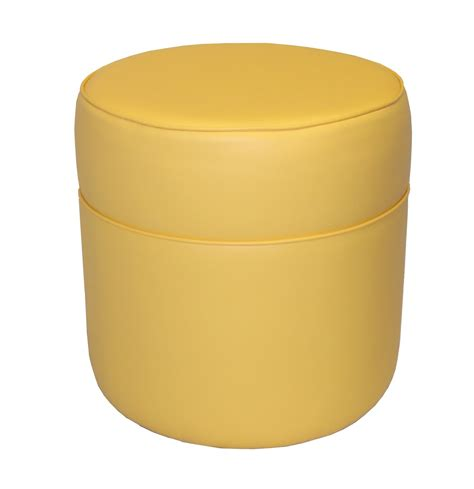 round yellow ottoman wholesale bulk dropshipper yellow yellow vinyl tall