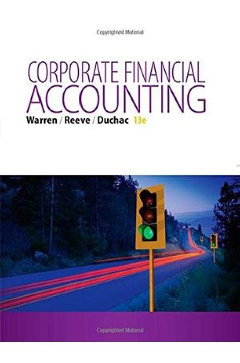 corporate financial accounting corporate financial accounting 13th edition solutions