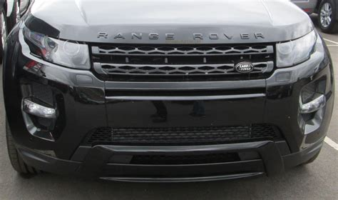 chrome range rover evoque gloss black front grille for range rover evoque pure