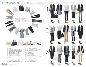 15 fabulous cabi items create 30 days of fashion by