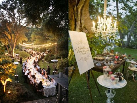 elegant backyard wedding elegant backyard wedding ideas marceladick com