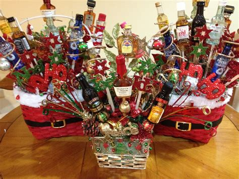 christmas liquor best 25 liquor gift baskets ideas on mini bouquet burger