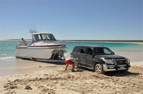best boat trailer for beach launching beach launching a boat gone wrong