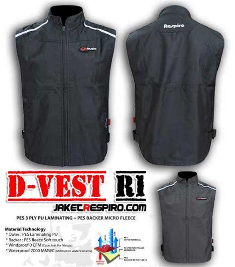 desain jaket rompi til nyentrik saat touring dengan rompi respiro d vest
